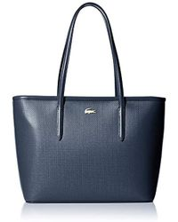 Lacoste - Medium Zip Shopping Bag, Nf2116ce - Lyst