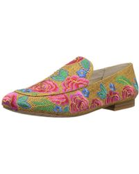 Kenneth Cole - Westley Embroidery Loafer Flat - Lyst