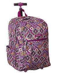 Vera Bradley - Lighten Up Large Rolling Backpack e25b4140bc94d
