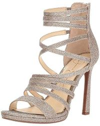 b493b3f141c Lyst - Jessica Simpson Palkaya Dress Sandals in Blue