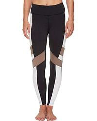 Reebok - Lux Bold Tights - Lyst