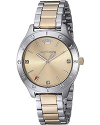 Juicy Couture - 'sierra' Quartz Stainless Steel Casual Watch, Color:two Tone (model: 1901548) - Lyst