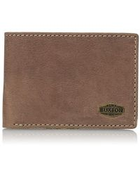 Buxton - Expedition Rfid Blocking Leather Front Pocket Slimfold - Lyst