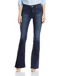 PAIGE - Bell Canyon Flare Jean - Lyst