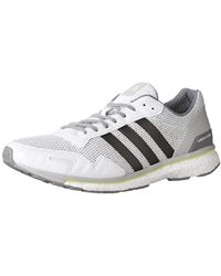 cf86b5accdacc Lyst - adidas Performance Ultra Boost Street Running Shoe in Gray ...