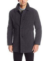 Cole Haan - Car Coat Jacket - Lyst
