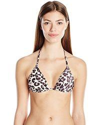 41c3571d2b Lyst - Juicy Couture Jetset Glam Sport Bra Bikini Top