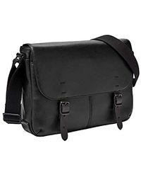 Fossil - Buckner Small Commuter Black Cross Body Bag, One Size - Lyst