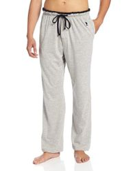 U.S. POLO ASSN. - ... Solid Sleep Pant With Contrast Trim - Lyst