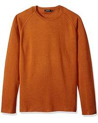 J.Lindeberg - Cotton Crewneck Sweater - Lyst