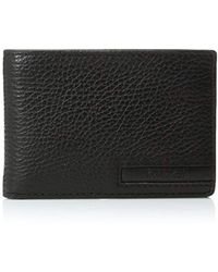Calvin Klein - Pebble Leather Slimfold With Key Fob - Lyst