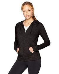 Champion - Heathered Jersey Jacket - Lyst