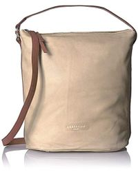 Liebeskind Berlin - Hallowell Leather Hobo With Ring Detail - Lyst