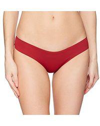 Eberjey - So Solid Coco Bikini Bottom - Lyst