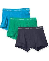 Calvin Klein - Underwear Cotton Classics 3 Pack Trunks - Lyst