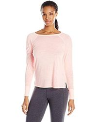 Calvin Klein - Performance Icy Wash Tunic Length Tee, - Lyst