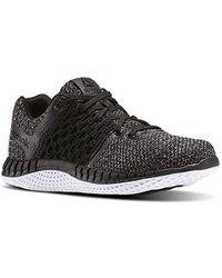Lyst - Reebok Zprint 3d Running Shoe in Black for Men 3645d29f1
