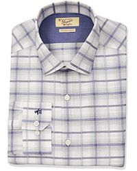 Original Penguin - Slim Fit Spread Collar Fashion Dress Shirt - Lyst