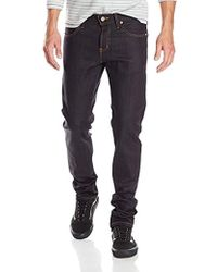Naked & Famous - Super Guy Jean In Deep Indigo Stretch Selvedge - Lyst