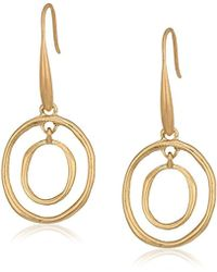 The Sak - Mini Metal Orbit Drop Earrings - Lyst