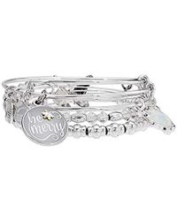 ALEX AND ANI - S Be Merry Set Of 4 Bracelet - Lyst