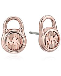 Michael Kors - Hamilton -tone Stud Earrings - Lyst