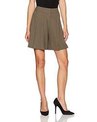 Nine West - Crepe Shorts - Lyst