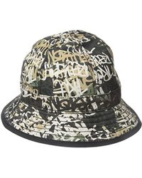 a7184bc6 True Religion Graffiti Print Bucket Hat in Blue for Men - Save 7% - Lyst