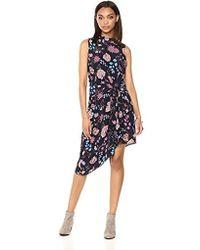 Ella Moon - Alyah Sleeveless Asymetric Dress - Lyst