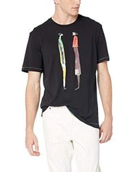 Robert Graham - Talking People T-shirt (black) Men's T Shirt - Lyst