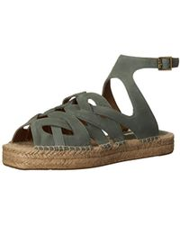77f95562c Lyst - Cynthia Vincent Fairfax Embroidered Leather Sandal