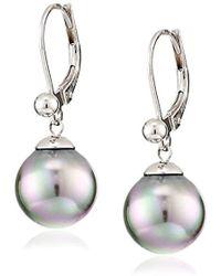 Majorica - Simulated-pearl Dangle Earrings - Lyst