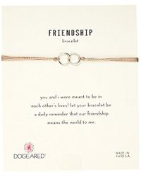 Dogeared - S Ss Live In Love Y Chain Necklace, Silver, 16 - Lyst