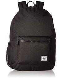 d88137babc7 Lyst - Herschel Supply Co. Settlement Tarpaulin Backpack in Black
