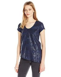 Calvin Klein - Jeans Short Sleeve Animal Stud Calvin Logo Crew Neck T-shirt - Lyst