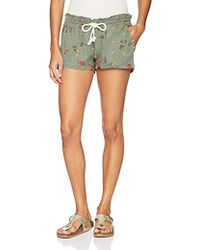 154581c91f Lyst - Roxy Junior's Printed Oceanside Short in Blue