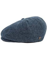 c96f26d1938bc Brixton - Brood Newsboy Snap Hat - Lyst