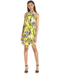 Tracy Reese - Tiered Halter Dress - Lyst
