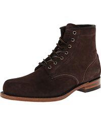 Frye - Arkansas Mid Leather Boot - Lyst