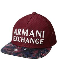 19115a17 Lyst - Armani Exchange Rmni Exchnge Tropicl Plms Cp in Blue for Men