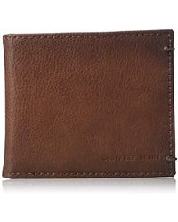 Geoffrey Beene - Stitched Burnished Rfid Blocking Bifold Wallet - Lyst