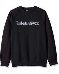 Timberland - Honcho Sport Crew (dark Charcoal Heather/black) Men's Long Sleeve Pullover - Lyst