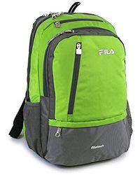 Fila - Duel School Laptop Computer Tablet Book Bag Backpack - Lyst