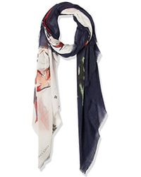 Vince Camuto - Anemone Flower Tissue Weight Wrap - Lyst