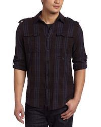 Joe's Jeans - Relaxed Military Shirt - Lyst