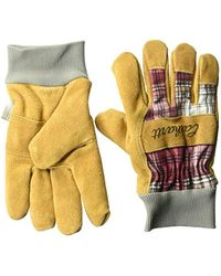 Carhartt - Insulated Suede Work Glove With Knit Cuff - Lyst