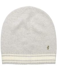 Juicy Couture - Black Label Super Soft Cashmere Beanie With Color Blocking, - Lyst