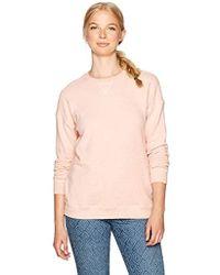 Volcom - Lil Crew Neck Pullover Fleece Sweatshirt - Lyst