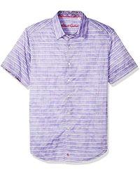 Robert Graham - Avenida Short Sleeve Shirt - Lyst