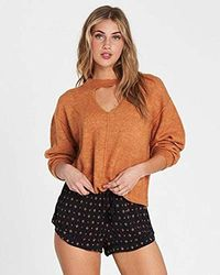 Billabong - Without A Crew Sweater - Lyst
